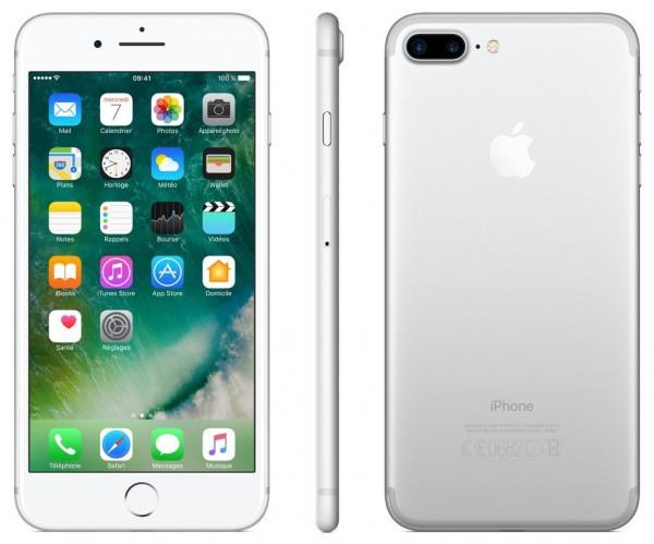 "Apple iPhone 7 Plus Silber 128GB LTE iOS Smartphone o. Simlock 5,5"" Display 12MP"