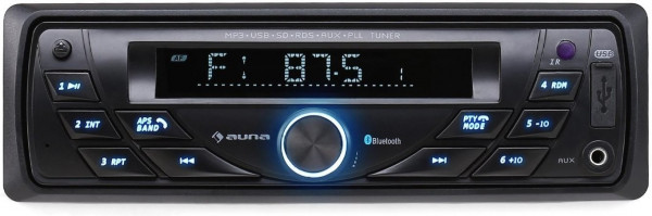 Auna MD-140-BT Autoradio Bedienteil abnehmbar USB AM/FM MP3