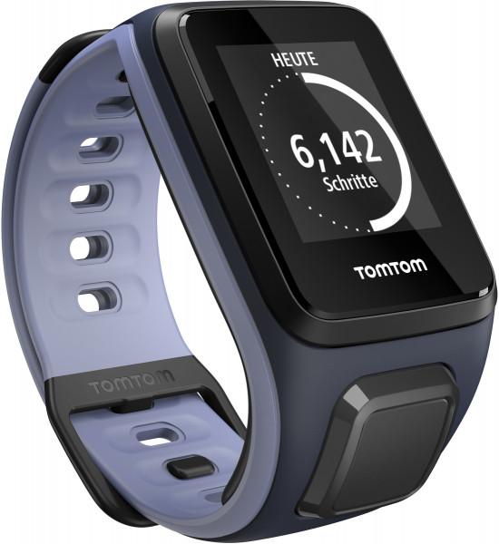 TomTom RUNNER 2 Small blau lila Smartwatch Fitness Tracker Schlaf Tracker BT