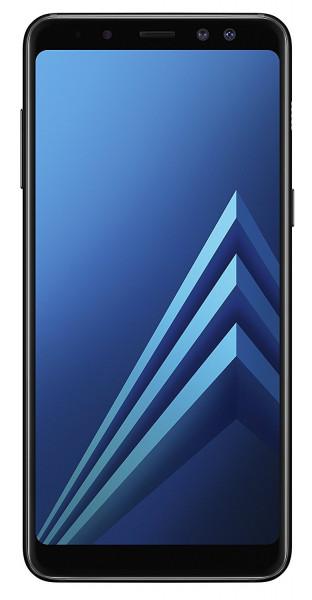 "Samsung A530 Galaxy A8 2018 schwarz 32GB LTE Android Smartphone 5,6"" Display"