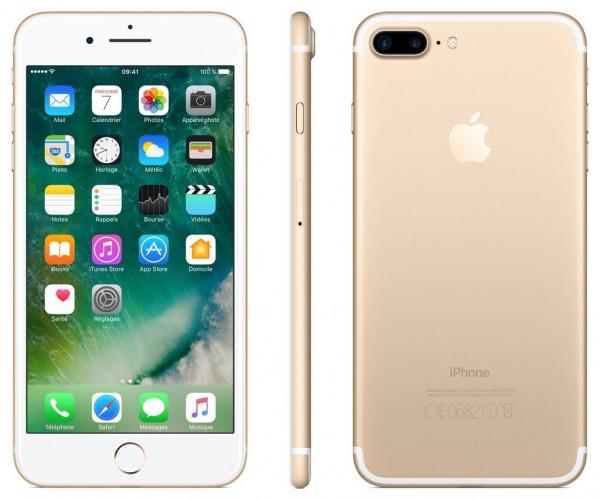Apple iPhone 7 Plus 32GB Gold 5,5 Zoll Display iOS Smartphone ohne Simlock