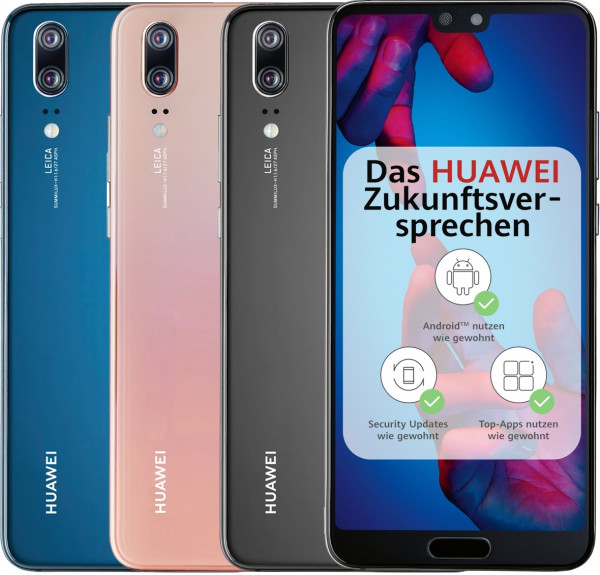 """Huawei P20 DualSim 128GB LTE Android Smartphone 5,8"""" Display 20Megapixel"""