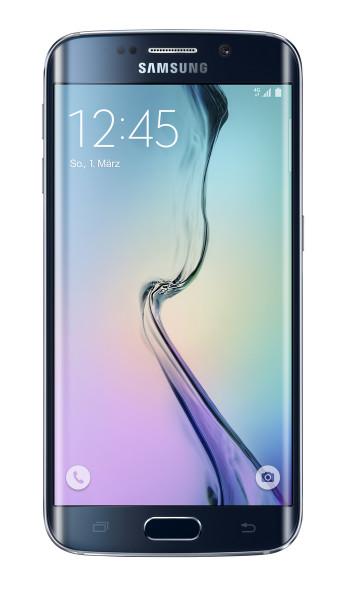 "Samsung Galaxy S6 edge Schwarz 32GB LTE Android 5,1"" Smartphone ohne Simlock"