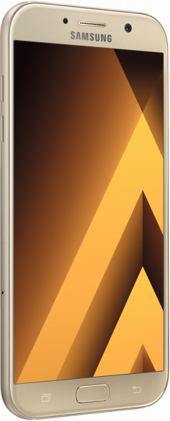 "Samsung Galaxy A3 2017 gold 16GB Android Smartphone ohne Simlock 4,7"" Display"