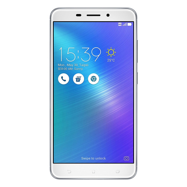 ASUS Zenfone 3 Silber 32GB Dual SIM LTE Android Smartphone ohne Simlock 5,5 Zoll