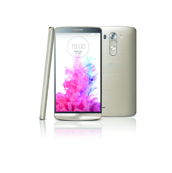 """LG G3 16GB gold LTE Android Smartphone ohne Simlock 5,5"""" Display 13 Megapixel"""
