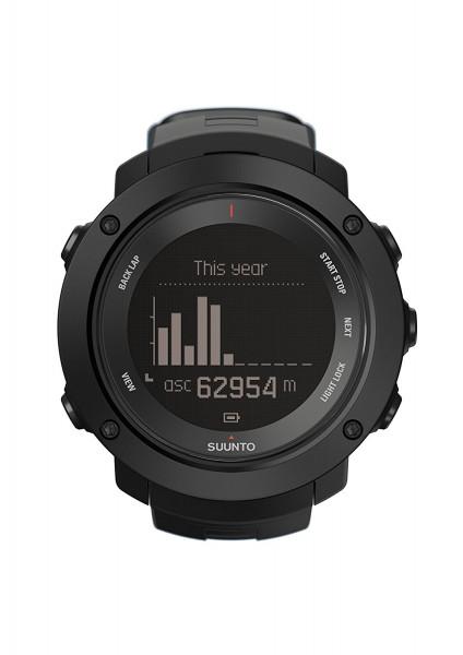 Suunto Ambit3 Vertical Black HR Multisport GPS-Uhr Fitness Tracker Herzfrequenz