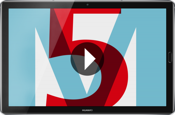 "Huawei MediaPad M5 10.8 schwarz 32GB WiFi Android Tablet 10,8"" Display 13MPX"