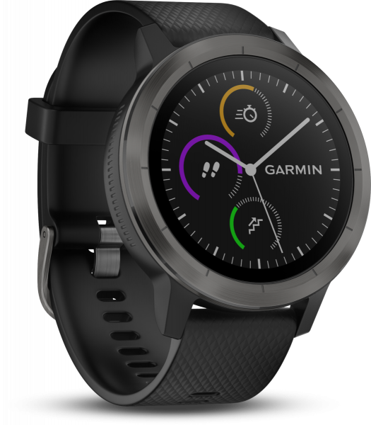 Garmin Vivoactive 3 schwarz Smartwatch Fitness Tracker Schlaf Tracker Bluetooth