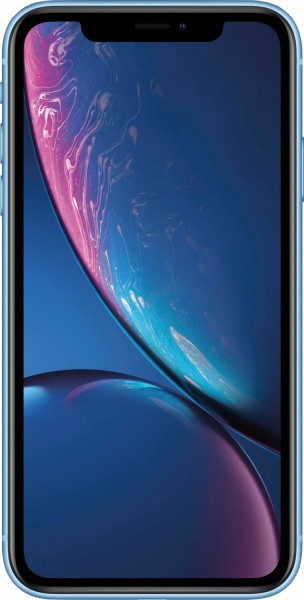 "Apple iPhone XR blau 256GB LTE iOS Smartphone 6,1"" Display 12 Megapixel eSim"