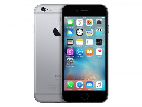 "Apple iPhone 6s 64GB Spacegrau LTE IOS Smartphone ohne Simlock 4,7"" Display 12MP"