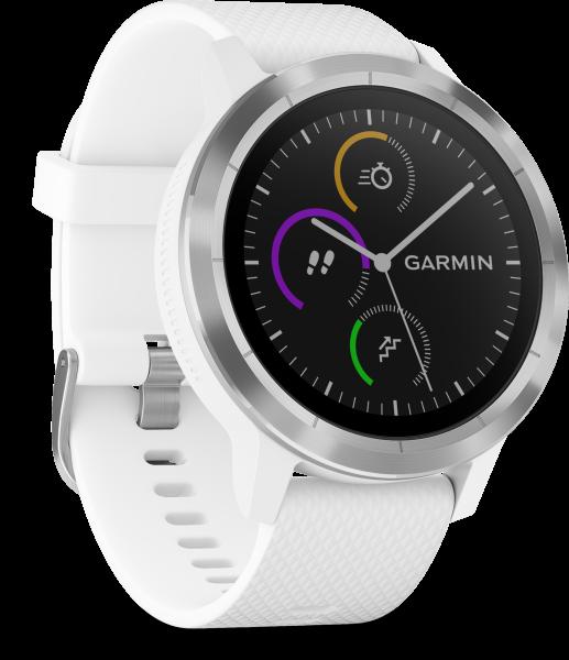 Garmin Vivoactive 3 weiß Smartwatch Fitness Tracker Schlafüberwachung BT