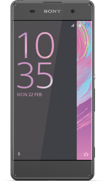 "Sony Xperia XA schwarz 16GB LTE Android Smartphone ohne Simlock 5"" Display 5 MPX"