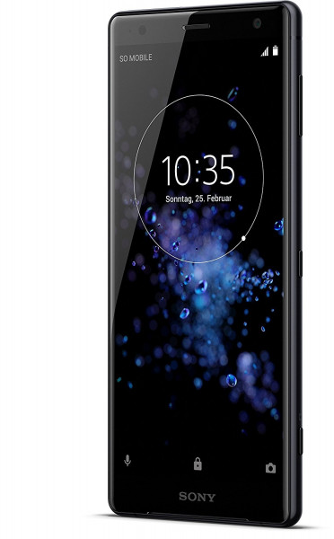 """Sony Xperia XZ2 Compact schwarz 64GB LTE Android Smartphone 5"""" Display 19MPX"""