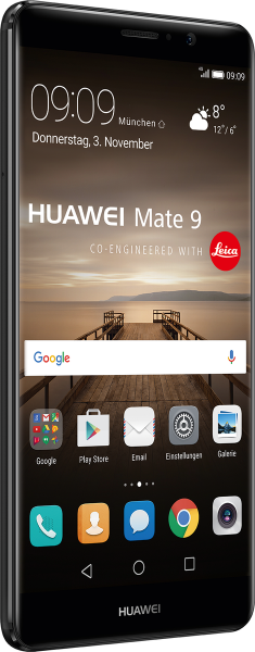 """Huawei Mate 9 DualSim schwarz 64GB LTE Android Smartphone 5,9"""" Display 20MPX"""