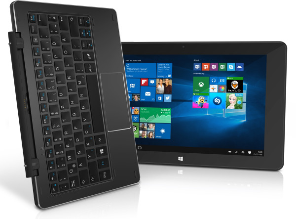 TrekStor SurfTab duo W1 10.1 Zoll WiFi WLAN 32GB Windows 10 Tablet PC 2GB RAM