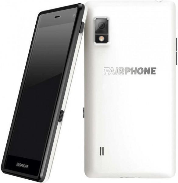 "Fairphone 2 DualSim weiß 32GB LTE Android Smartphone 5"" Display 8 Megapixel"