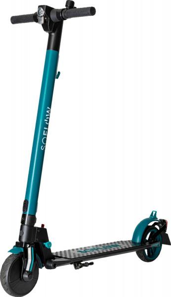 SOFLOW - SO1 E-Scooter schwarz/grün mit dt. Straßenzulassung