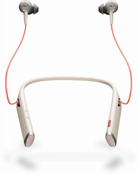 Plantronics Bluetooth Headset Voyager 6200 UC Weiß USB-C