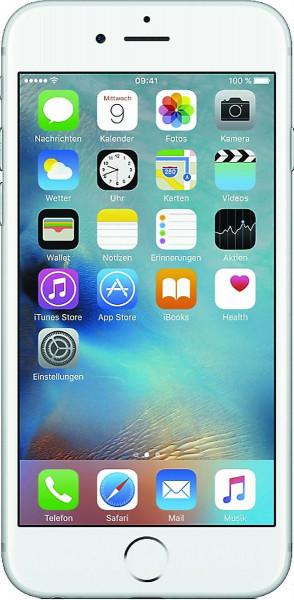 "Apple iPhone 6s Plus 32GB Silber LTE iOS Smartphone ohne Simlock 5,5"" Display"