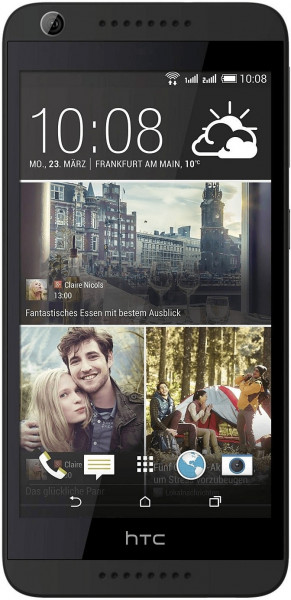 "HTC Desire 626 dunkelgrau 16GB Android Smartphone 5"" Display 13 MPX Kamera"