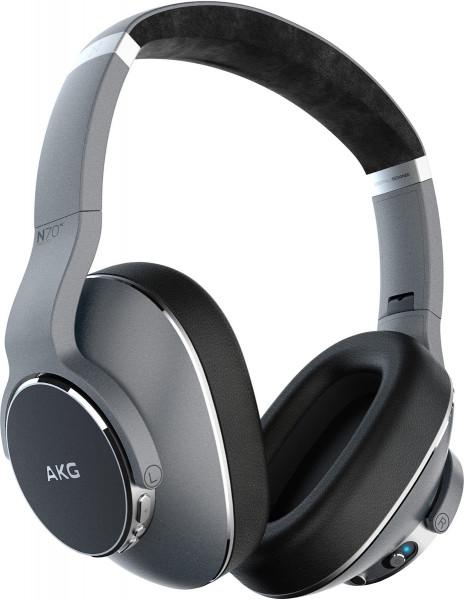 AKG N700NC Wireless Silber Bluetooth kabellos Kopfhörer Over-Ear Headphones