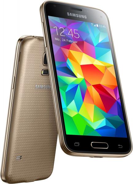 "Samsung GALAXY S5 mini gold 16GB LTE Android Smartphone 4,5"" ohne Simlock 8 MPX"
