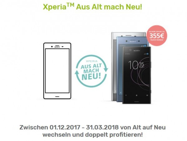 Sony-Tauschaktion