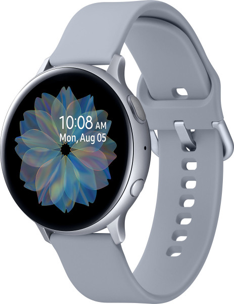 Samsung SM-R820NZ Galaxy Watch Active 2 Alu 44mm cloud silber