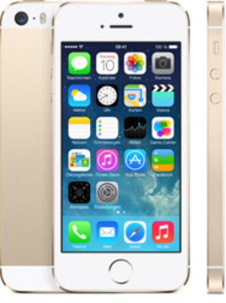 "Apple iPhone 5s Gold 16GB LTE iOS Smartphone 4"" Retina Display 8 Megapixel"