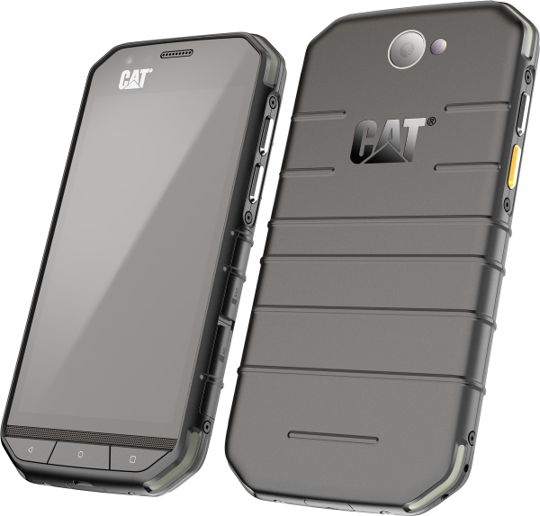 "CAT S31 DualSim 16GB LTE Smartphone schwarz Dual-Sim Android 4,7"" 8 MPX Kamera"