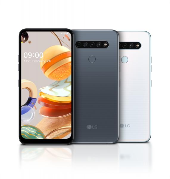 LG K61 Dualsim Weiß 128GB