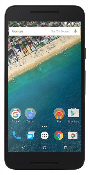 "LG Google Nexus 5X Carbon 32GB LTE Android Smartphone 5,2"" Display 12,3MPX"