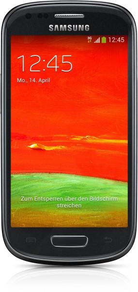 "Samsung I8200N GALAXY S3 mini schwarz Android Smartphone 4"" ohne Simlock 5 MPX"
