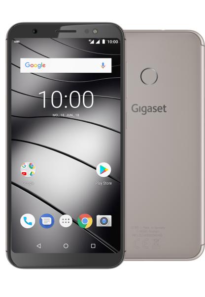 "Gigaset GS185 DualSim metal cognac 16GB LTE Android Smartphone 5,5"" Display 13MP"