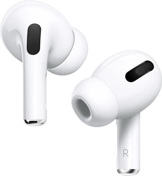 Apple AirPods Pro mit kabellosem Ladecase weiß BT Kopfhörer Noise-Cancelling