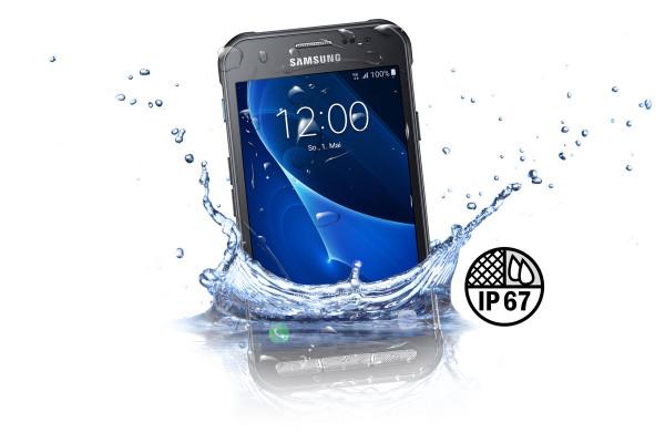 Samsung G389F GALAXY Xcover 3 (dark silver) 4,5 Zoll 8GB Speicher, Android 5.1