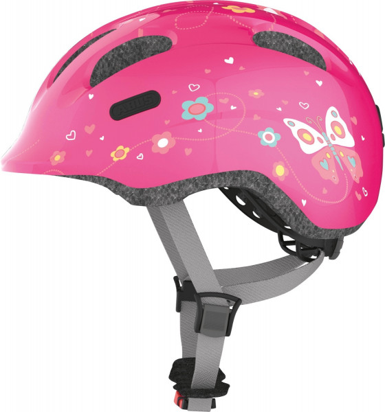 Abus Smiley 2.0 Pink Butterfly M 50-55cm Radhelm