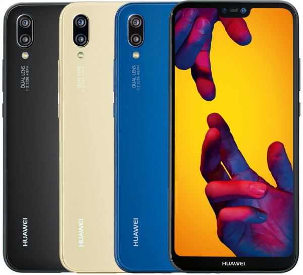 "Huawei P20 lite DualSim 64GB LTE Android Smartphone 5,84"" Display 16Megapixel"