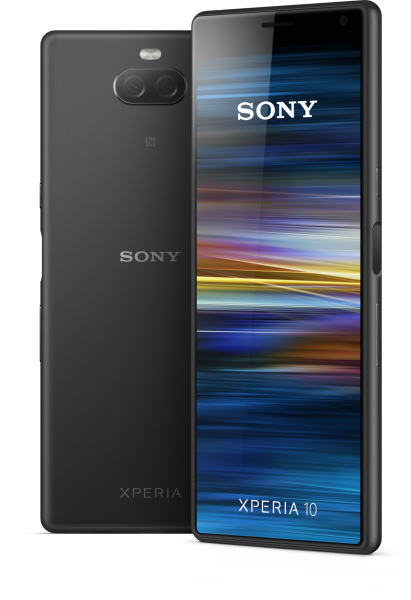 "Sony Xperia 10 DualSim schwarz 64GB LTE Android Smartphone 6"" Display 21:9 13 MP"