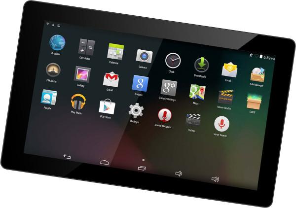 "Denver TAQ-10423L schwarz 16GB LTE Android Tablet Bluetooth LCD-TFT 10,1"" 2 MPX"