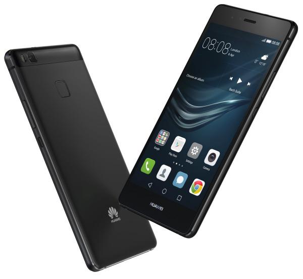 "Huawei P9 lite schwarz 16GB LTE Android Smartphone ohne Simlock 5,2"" Display"