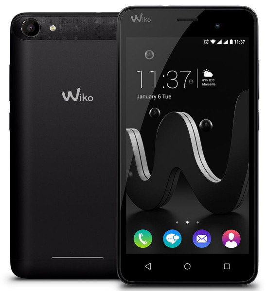 Wiko Jerry 16GB schwarz LTE 5 Zoll Android Smartphone ohne Simlock 5 Megapixel