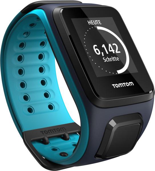 TomTom RUNNER 2 Large blau Smartwatch Fitness Tracker Schlaf Tracker Bluetooth