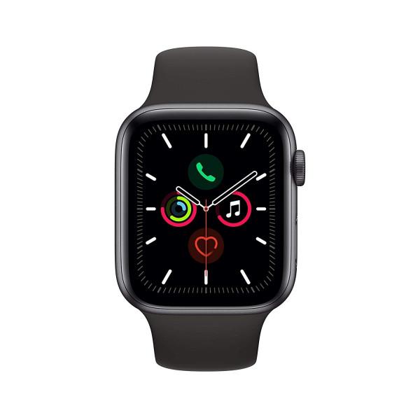 Apple Watch 5 spacegrau Alu 44mm schwarz GPS Smartwatch Fitness Tracker OLED