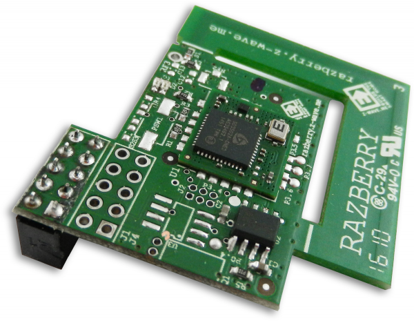 Z-Wave.Me RaZberry2 Modul Plus Extension Raspberry Pi Antenne 200m Reichweite