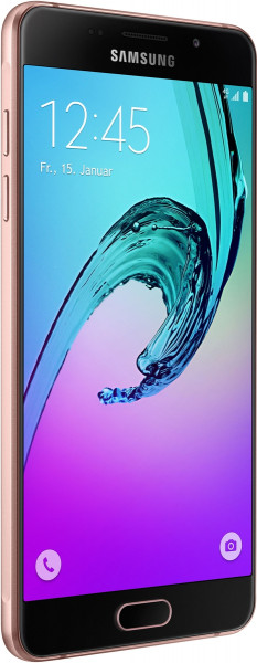 """SAMSUNG Galaxy A5 2016 pink gold 16GB LTE Android Smartphone 5,2"""" ohne Simlock"""