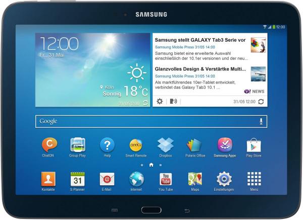 Samsung Galaxy Tab 3 10.1 Zoll schwarz 16 GB WIFI Wlan Android Tablet PC 1GB RAM