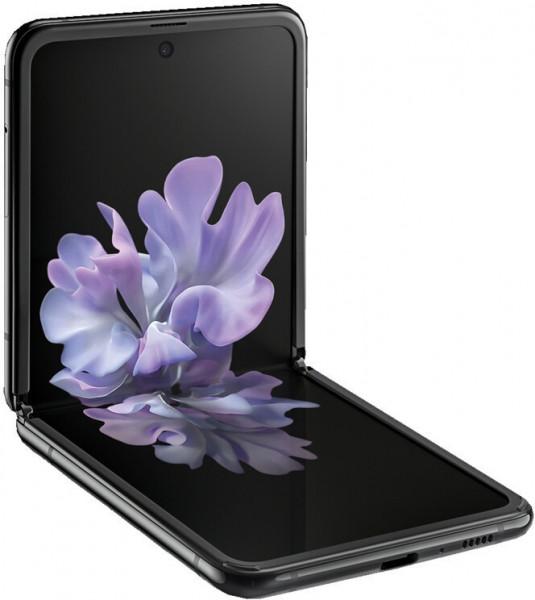 """Samsung F700F Galaxy Z Flip DualSim schwarz 256GB LTE Android 6,7"""" faltbar 12MP"""