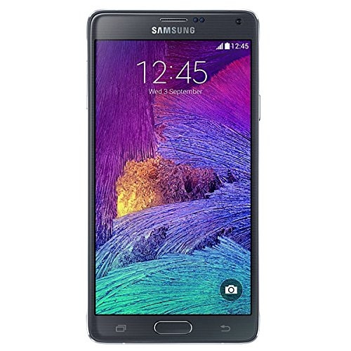 """Samsung GALAXY Note 4 charcoal schwarz 32GB LTE Android Smartphone 5,7"""" 16MPX"""